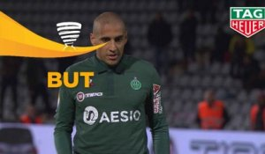 But Denis BOUANGA (90ème) / Nîmes Olympique - AS Saint-Etienne - (1-1) - (NIMES-ASSE) / 2018-19