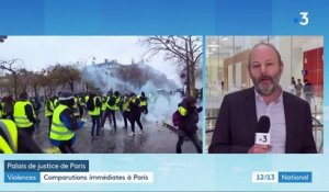 """Gilets jaunes"" : comparutions immédiates à Paris"