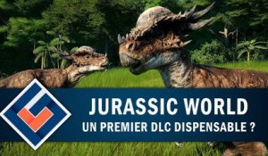 JURASSIC WORLD EVOLUTION : Un premier DLC dispensable ? | GAMEPLAY FR