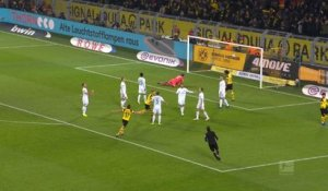 Bundesliga: 15e j. - Le but de Reus qui fait le break pour Dortmund