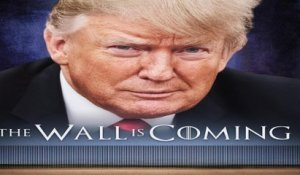 """The Wall is coming."" Pour son mur, Donald Trump a encore parodié ""Game of Thrones"""