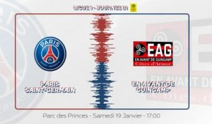 Paris Saint-Germain - EA Guingamp : La bande-annonce