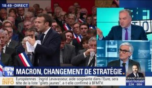 Grand débat national: Emmanuel Macron change de stratégie