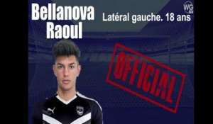 [Officiel] Raoul Bellanova signe aux Girondins de Bordeaux