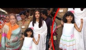 Aishwarya Rai Takes CUTE Daughter Aaradhya Bachchan To Sidhivinayak Temple On Birthday 2017