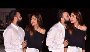 Shilpa Shetty and Husband Raj Kundra's CUTE Moments in Public