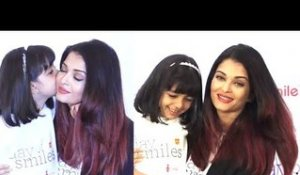 Aishwarya Rai's CUTE MOMENTS with Daughter Aaradhya Bachchan at Her Fathers Birthday Celebration