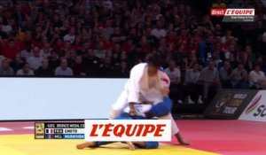 Le bronze pour Gneto - Judo - Paris Grand Slam