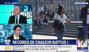 Records de chaleur battus !