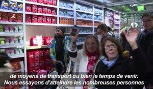 Besancon Le Magasin Maisons Du Monde Depasse Par La Foule De Clients Sur Orange Videos