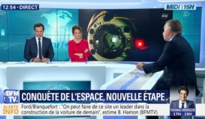 La capsule Dragon s'est amarrée à la station orbitale internationale ISS