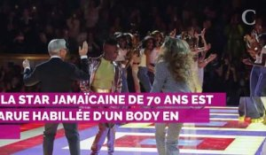 PHOTOS. A 70 ans, Grace Jones électrise le défilé Tommy Hilfiger à la Fashion Week de Paris