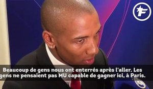 Paris SG-Manchester United : Ashley Young raconte l'exploit