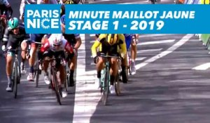 Yellow Jersey Minute / Minute Maillot Jaune - Étape 1 / Stage 1 - Paris-Nice 2019