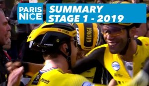 Summary - Stage 1 - Paris-Nice 2019