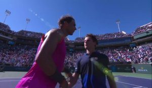 ATP - Indian Wells 2019 - Rafael Nadal la force tranquille et retrouvera Krajinovic en quarts