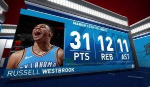 Nightly Notable: Russell Westbrook | March 13th