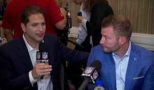 Sean McVay explains why he wasn't in the coaches photo