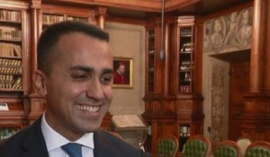 Sans frontières - Interview exclusive de Luigi Di Maio