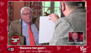 Jean-Marie Le Pen interviewé par... Cyril Hanouna