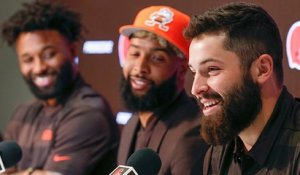 Mayfield: 'I just started screaming' when I heard we traded for OBJ