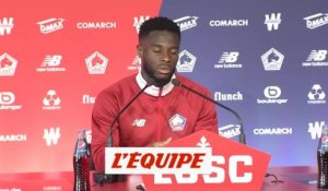 Bamba «On ne calcule pas» - Foot - L1 - LOSC