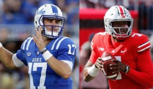 How would drafting Daniel Jones over Dwayne Haskins impact the Giants?