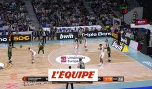 Le Real Madrid débute bien - Basket - Euroligue (H)