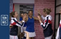 Fed Cup France-Roumanie la minute bleue n°7