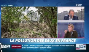 Dupin Quotidien : La pollution des eaux en France - 25/04