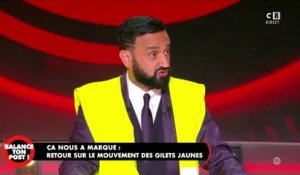 Cyril Hanouna enfile un gilet jaune en direct !