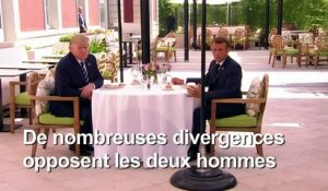 Avant le G7, Trump menace la France de représailles sur son vin
