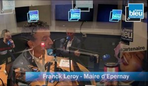 Franck Leroy, maire d'Epernay : la situation Carrefour