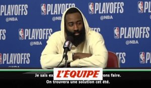 Harden «fier» mais «frustré» - Basket - NBA - Houston