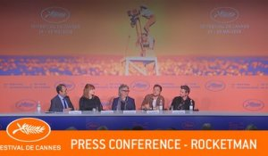 ROCKETMAN - Press conference - Cannes 2019 - EV