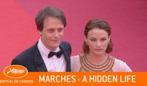 A HIDDEN LIFE - Marches - Cannes 2019  -  VF