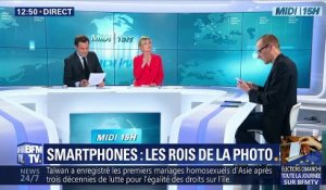 Smartphones: les rois de la photo