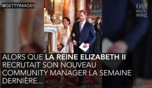 Meghan Markle et le prince Harry recrutent  !