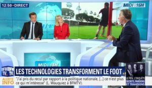 Les technologies transforment le foot