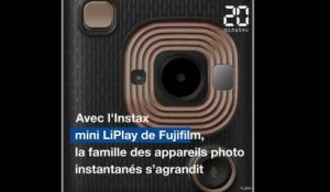 L'Instax mini LiPlay arrive en France