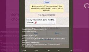 Pamela Anderson Son Message Rassurant Après Sa Rupture