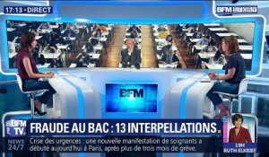 Fraude au bac: 13 interpellations