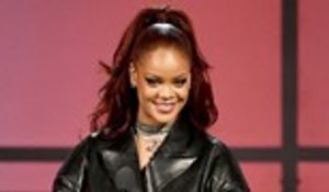 Rihanna Runs Into Her School Teacher at London Cricket Match | Billboard News