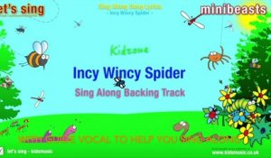 Kidzone - Incy Wincy Spider (Sing Along Backing Track)