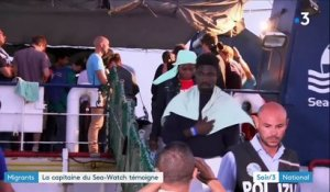 Migrants : la capitaine du Sea-Watch témoigne