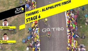 Finish Thomas - Alaphilippe / Thomas - Alaphilippe Finish - Étape 6 / Stage 6 - Tour de France 2019