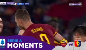 Serie A 19/20 Moments: Edin Dzeko's Individual Highlights Roma vs Genoa