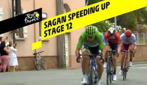 Sagan accélère / Sagan speeding up - Étape 12 / Stage 12 - Tour de France 2019