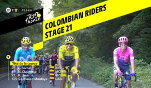 Les cyclistes colombiens / Colombian riders - Étape 21 / Stage 21 - Tour de France 2019