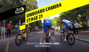 Onboard camera - Étape 21 / Stage 21 - Tour de France 2019